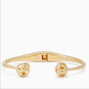 Kate Spade Sparklers Gold Knot Open Cuff